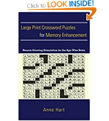 Large Print Crossword Puzzles for Memory Enhancement