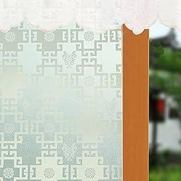 Bason Classic Minimalism Traditional Chinese Pattern Window Film