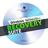 Windows ALL Recovery Disk – Every Windows 7, Vista, XP systems – Fix / Repair Windows PC Boot CD/DVD – All 32 & 64 Bit (works with Home Premium, Professional and Ultimate) NEW – 2012
