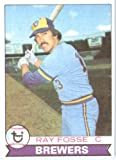 1979 Topps # 51 Ray Fosse Milwaukee Brewers Baseball Card