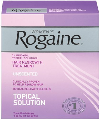 Rogaine for Women Hair Regrowth Treatment, 3 Count Pack, 2 Ounce Bottles online