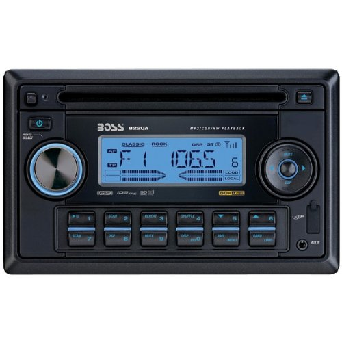 Boss Audio 822Ua Double-Din In-Dash Cd Receiver