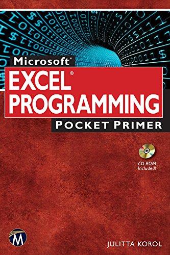Microsoft Excel Programming Pocket Primer, by Julitta Korol