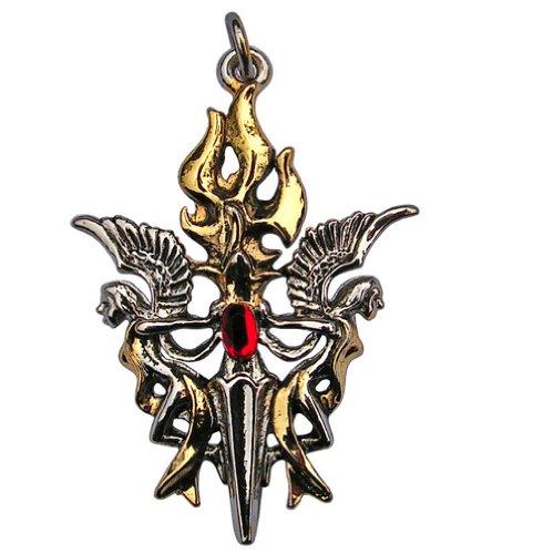 h ter der heiligen flamme anh nger amulett talisman schutz f r heim familie und nahestehende. Black Bedroom Furniture Sets. Home Design Ideas