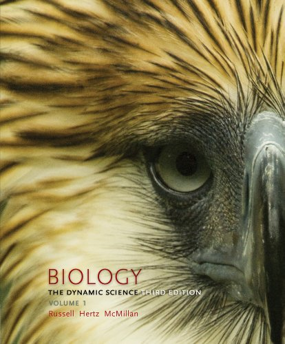 Biology: The Dynamic Science, Volume 1 (Units 1 & 2)