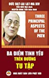 img - for Ba diem tinh yeu tren duong tu tap - Ban song ngu Anh Viet: Giao phap do Duc Dat Lai Lat Ma giang giai (Vietnamese Edition) book / textbook / text book