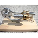 Sunnytech Hot Air Stirling Engine Motor Generator Education Toy Electricity M12-02-s