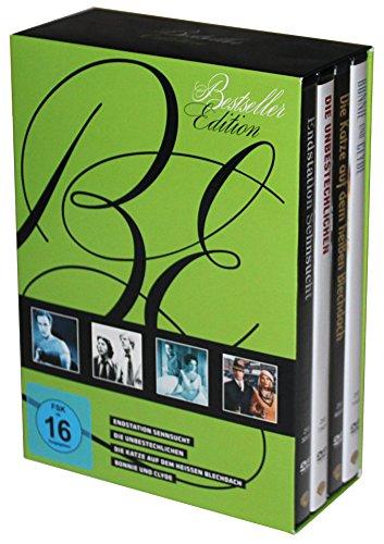Bestseller : Endstation Sehnsucht - Die Katze auf dem heißen Blechdach - Die Unbestechlichen - Bonnie und Clyde - 6 DVD Box