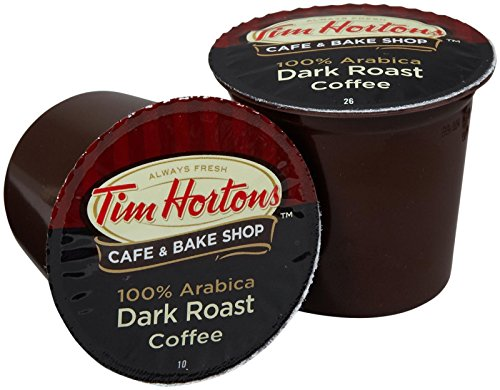 Tim Hortons Dark Roast, 48 Count (8.89 Oz each) (Coffee K Cups Tim Horton compare prices)
