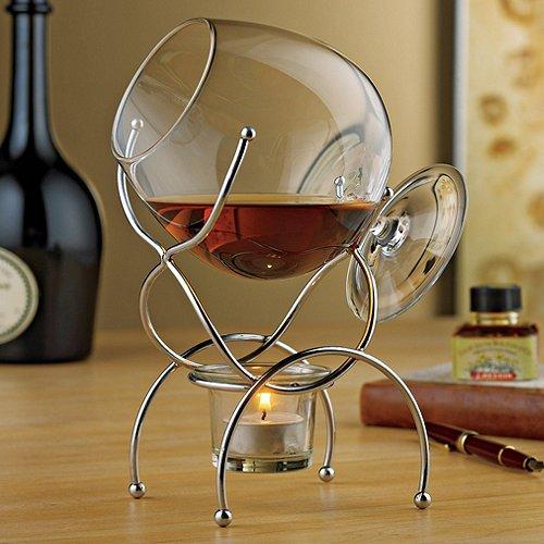 Wine Enthusiast 4-Piece Brandy Warmer Gift Set Reviews
