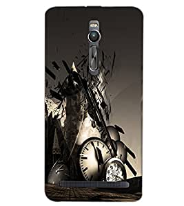 ASUS ZENFONE 2 CLOCK Back Cover by PRINTSWAG