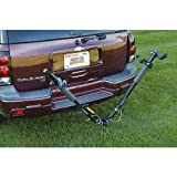 Highland 1375100 SportWing Hitch Mounted 2 Bike Carrier