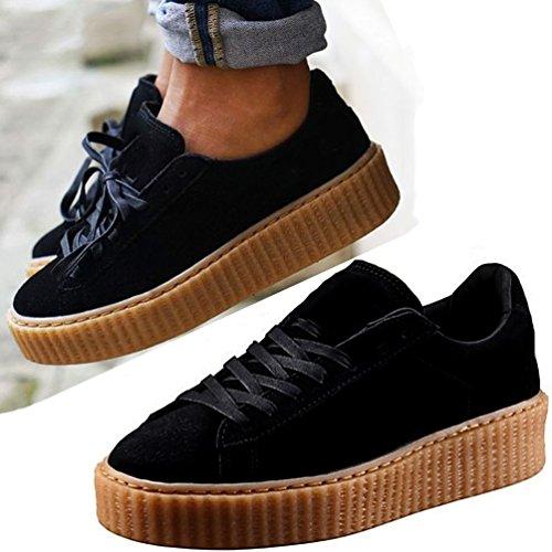 no brand ,  Sneaker Donna, Nero (nero), 37