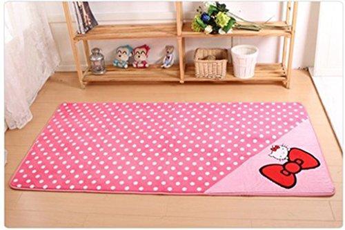 Hello Kitty Ground Mat Door Mat Bedroom Decoration Footcloth Rug 1 Pc