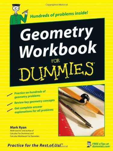 Geometry Workbook For Dummies front-1029032