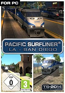 Pacific Surfliner LA - San Diego Route [Online Game Code]