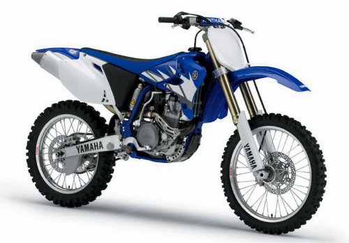 Yamaha YZ-450F Motorcycle 2006 Blue 1:12
