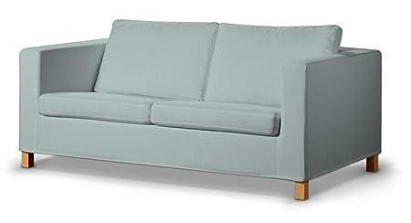 Dekoria Rivestimento per divano letto Karlanda, corto Rivestimento, adatto al modello Ikea Karlanda, pastello menta