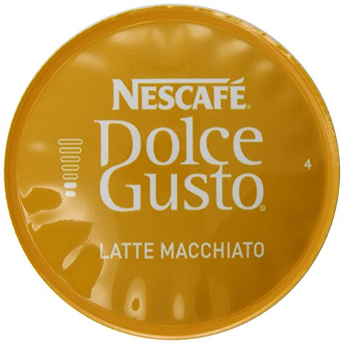 Nescafe Dolce Gusto For Nescafe Dolce Gusto Brewers, Latte Macchiato, 16 Count (Pack Of 3)