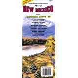 Topographic Recreational Map of New Mexico: Detailed Travel Map