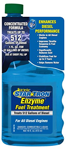 Star Tron Enzyme Fuel Treatment - Super Concentrated Diesel Formula 16 oz - Treats 512 Gallons (Stabil Diesel Fuel Stabilizer compare prices)