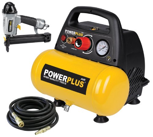 Deals For Powerplus Air Compressor 6L, 6 33CFM 230v 1 5HP