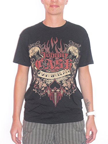 JOHNNY CASH - MAN IN BLACK T-Shirt nero 48/50