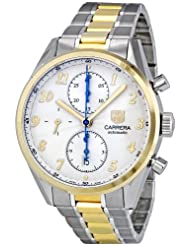 Tag Heuer Men's CAS2150.BD0731 Calibre Heritage Silver Dial Dress Watch