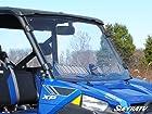 SuperATV Polaris Ranger Fullsize 570/900 Scratch Resistant Vented Full Windshield