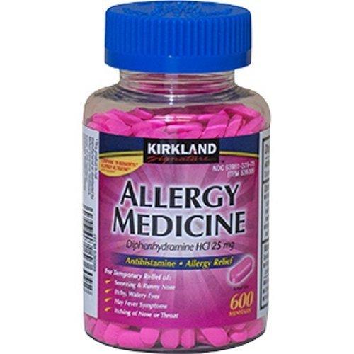 Diphenhydramine HCI 25 Mg - Kirkland Brand -