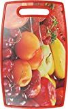Chrome 3723DRF Plastic Cutting Board, Red