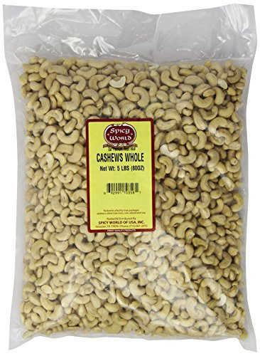 Spicy-World-Bulk-Raw-Natural-Whole-Cashews-5-Pound