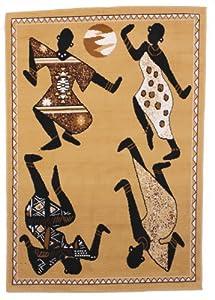 Area Rug - Africa Dancers