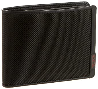Tumi Alpha Coin Wallet,Black,one size