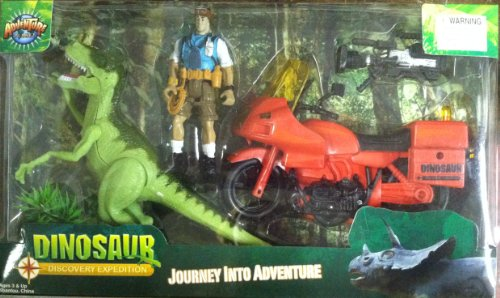 Adventure Planet Discovery Expeditions Dinosaur Explorer Set front-772786