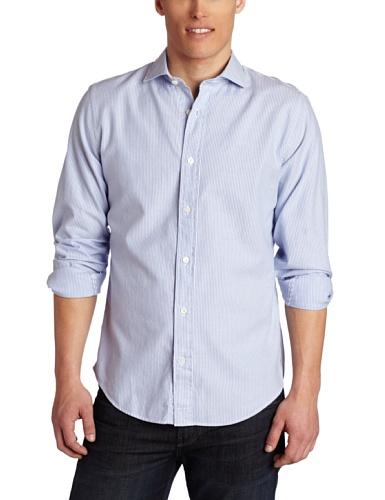 Jack Spade Men's Garcia Twill Stripe Woven Shirt