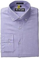 Stacy Adams Men's Big-Tall Long Sleeve Shirt with Regular Cuffs