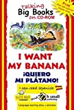 img - for Early Start Big Book CD-ROM I Want My Banana Spanish (Spanish Edition) book / textbook / text book