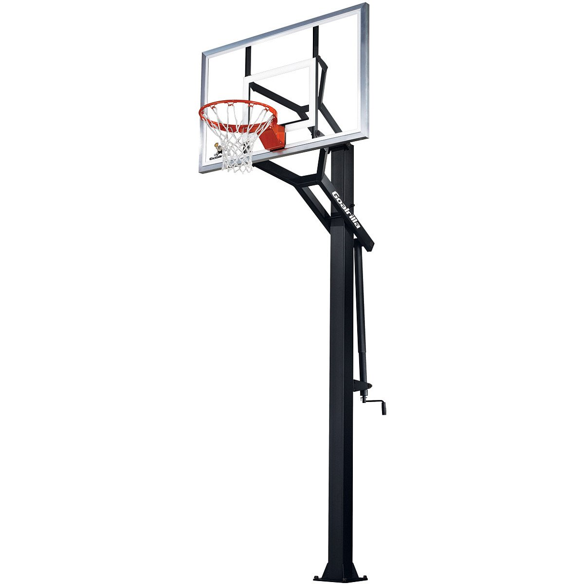 Image Result For In Ground Basketball Goal