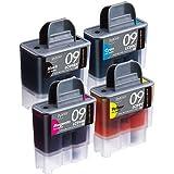 プレジール 汎用インクカートリッジ/ブラザーLC-094PK 対応 4色各1個 PLE-BR094P