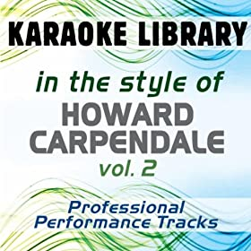 Samstag Nacht (Karaoke Version) [In the Style of Howard Carpendale]