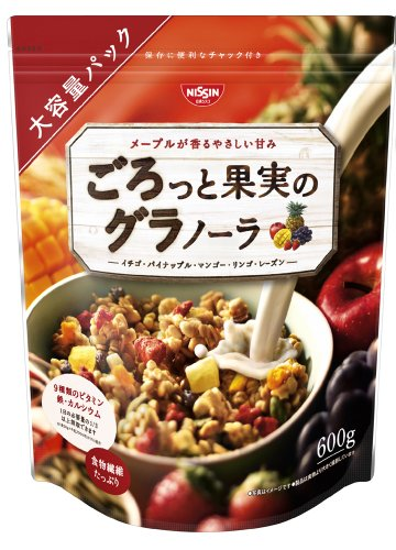 Nissin Cisco about boobs and fruit Granola 600 g