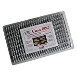 Clean BBQ - Disposable Aluminum Grill Liner. Set of 24 Sheets of Grill Topper (2) (Tamaño: 24-Pack)
