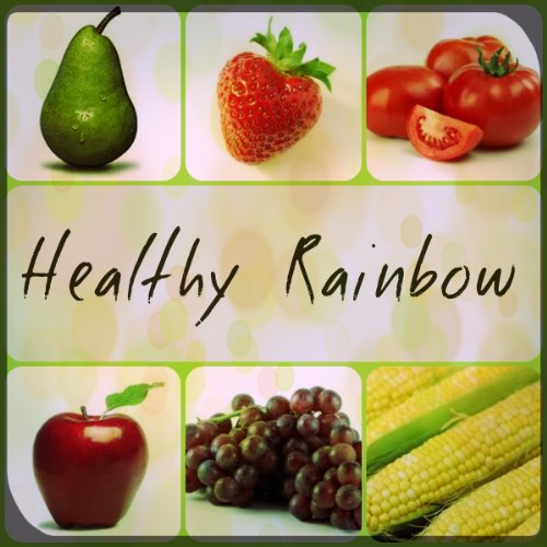 Healthy Rainbow - Color And Food Activity Book