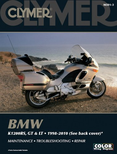 Clymer BMW K1200RS, GT & LT 1998-2010 (Clymer Motorcycle Repair)