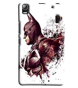 Blue Throat Batman Printed Designer Back Cover/Case For Lenovo A7000