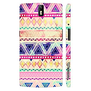 Oppo Find 7 Aztec Art 5 designer mobile hard shell case by Enthopia