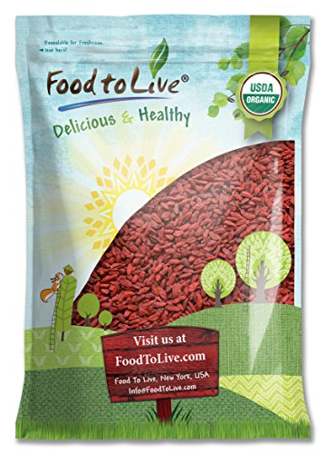 Food To Live Organic Goji Berries (6 Pounds) (Himalayan Yogurt Goji Berries compare prices)