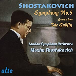 Shostakovich: Symphony 5; Gadfly Suite