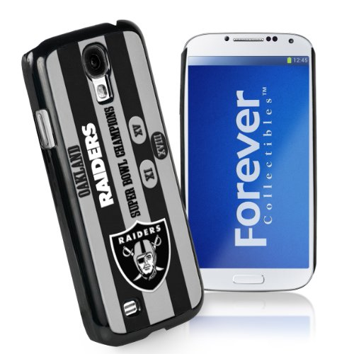 Forever Collectibles Oakland Raiders Commemorative Hard Snap-On Samsung Galaxy S4 Case